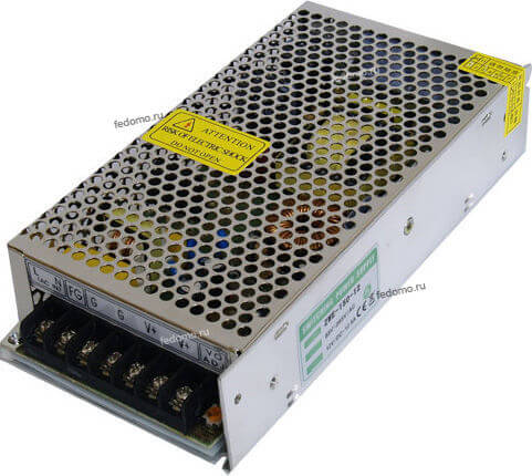 Power supplies 12 В 150 Вт